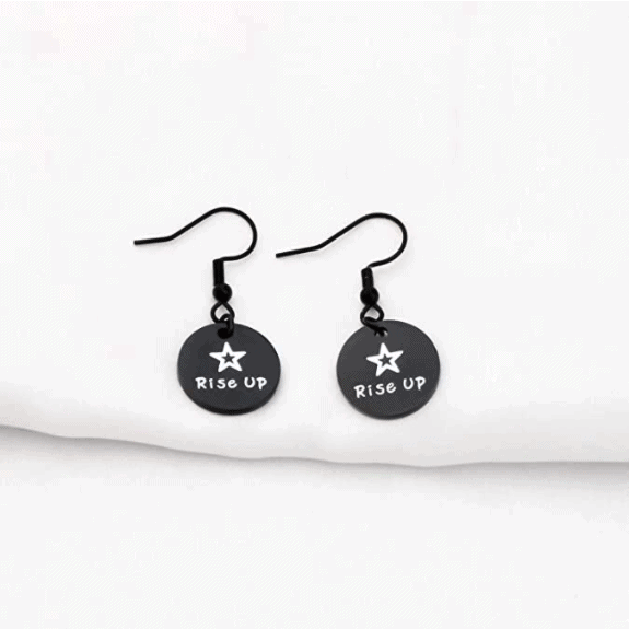 Hamilton-Inspired Rise Up Earrings - Inspirational Gifts For Her