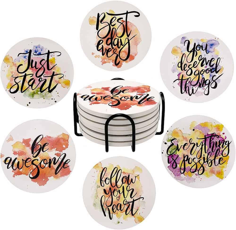 Inspirational Coaster Gift Set
