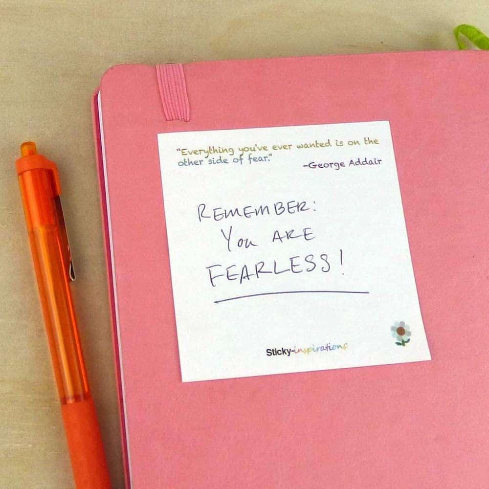 Inspirational Sticky Notes