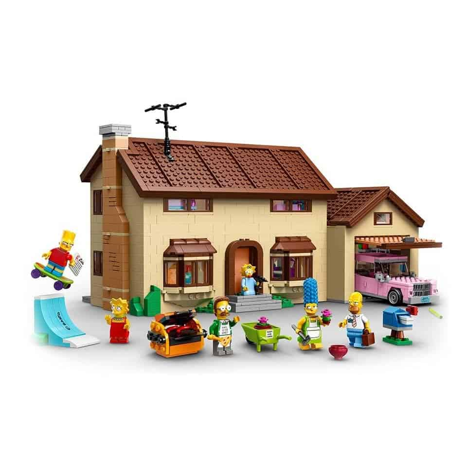Lego The Simpsons House - gift ideas for new relationship