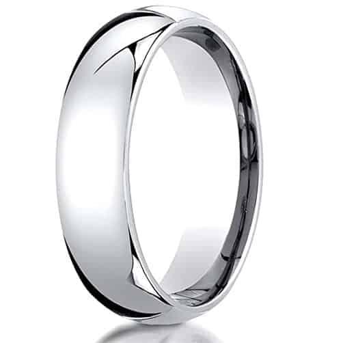 20 year anniversary traditional gift:Men's Platinum Ring