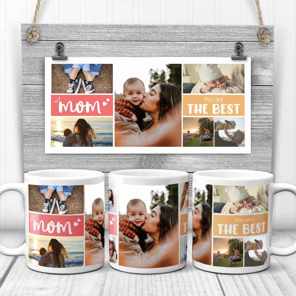 gifts to mom from son - Mom You're the Best Coffee Mug