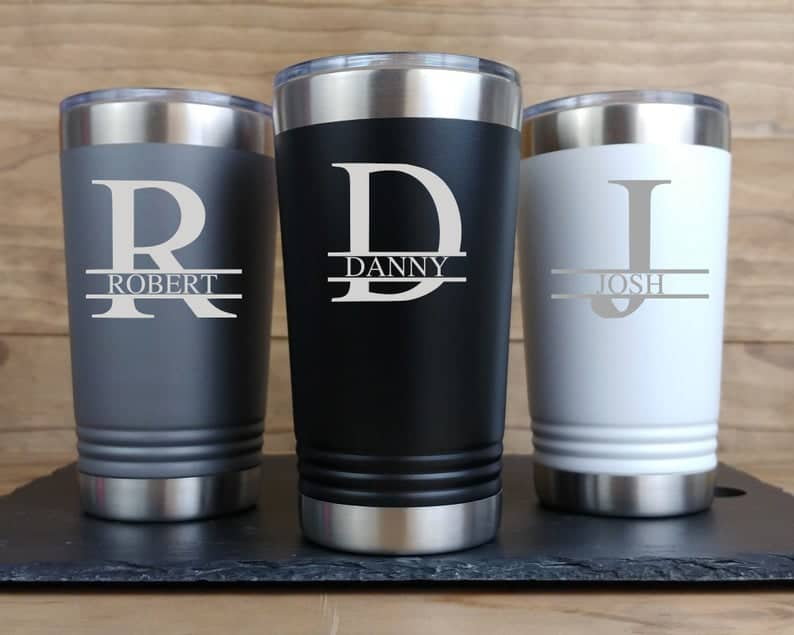Personalized Tumbler for Men