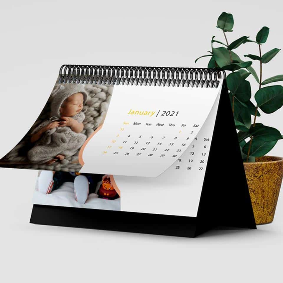 Photo Desk Calendar - mom gifts for mothers day
