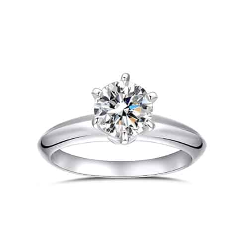 20th anniversary ideas for her:Platinum Ring