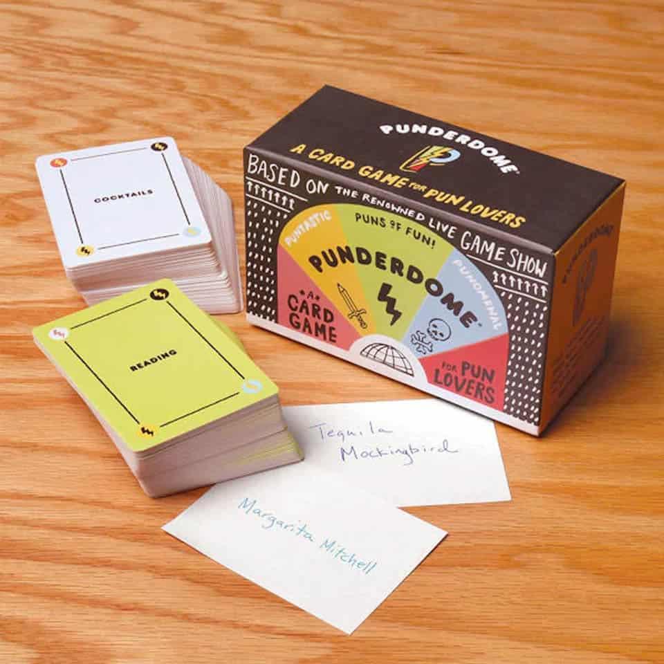 Punderdome Card Game - new boyfriend gift