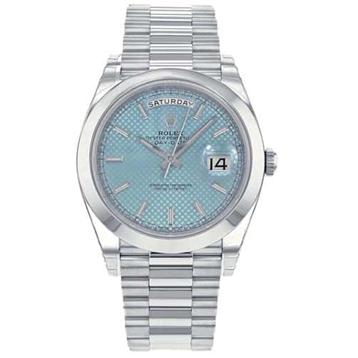platinum gifts for him:Platinum Men's Watch