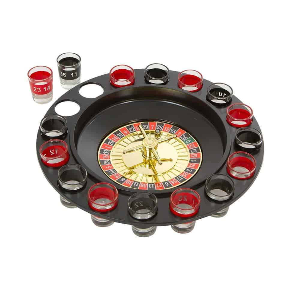 Shot Spinning Roulette Game Set - new relationship gift ideas for him
