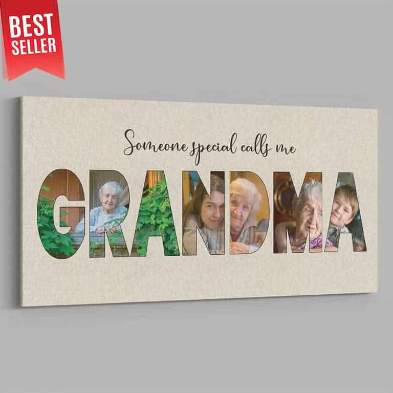 mothers day gifts for grandma - canvas print