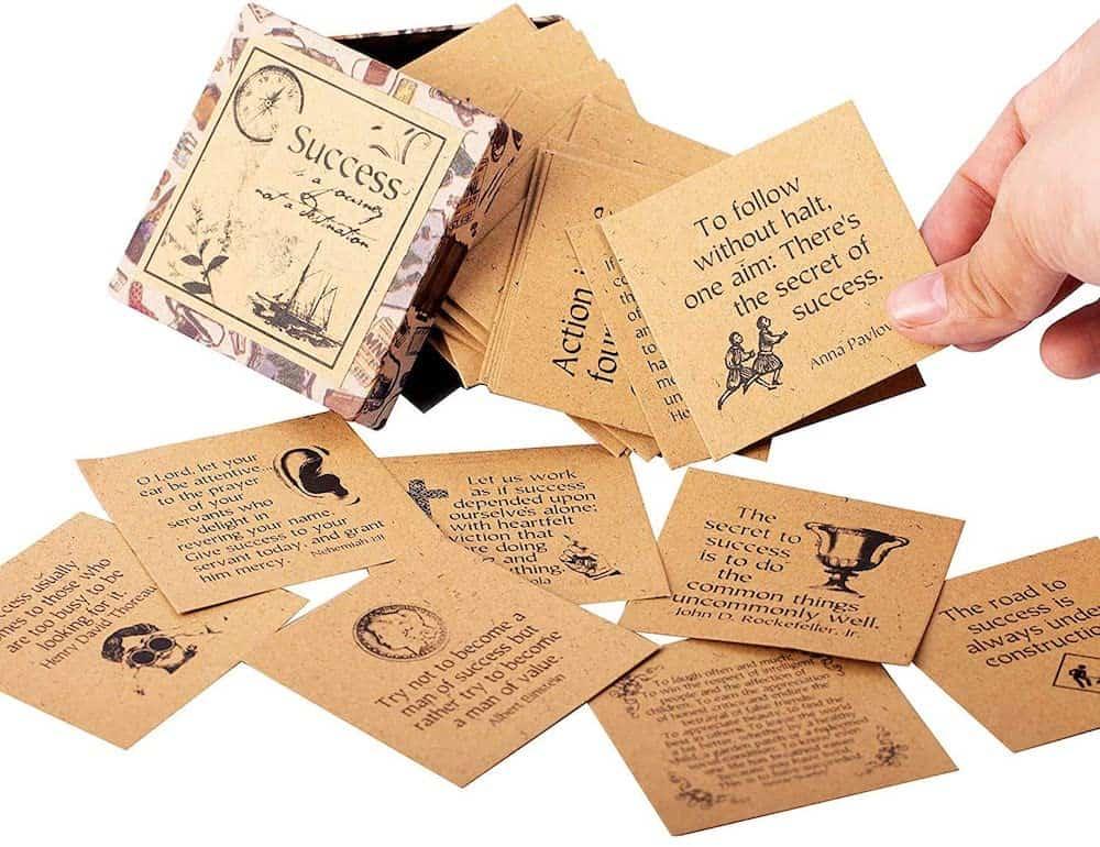Success Inspirational Cards Deck