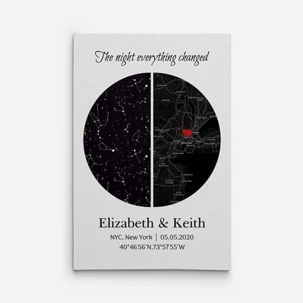 The Night Everything Changed Star Map