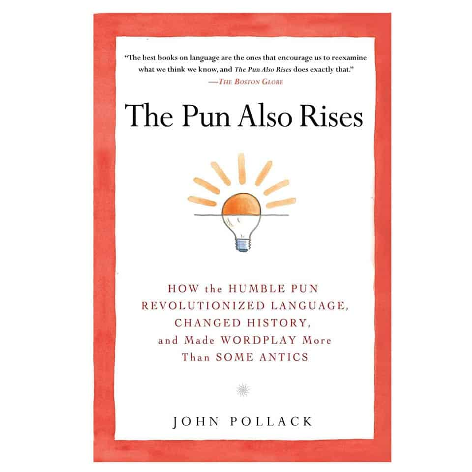 The Pun Also Rises - romantic gifts for new boyfriend
