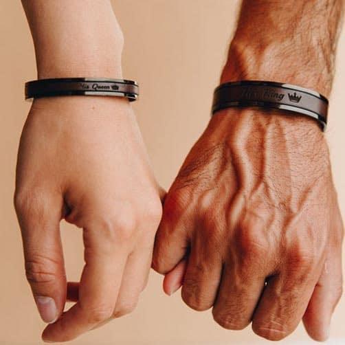 Unique Wedding Gift for couple Bracelets