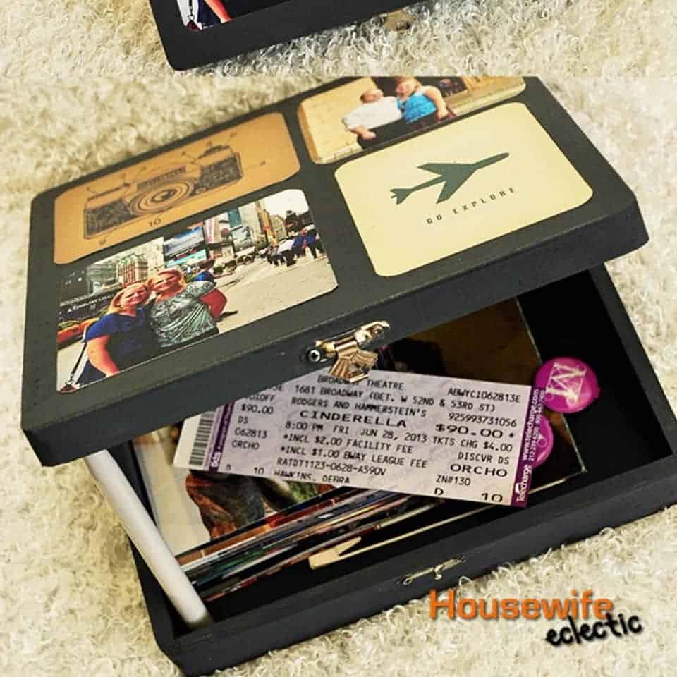 Vacation Memory Box