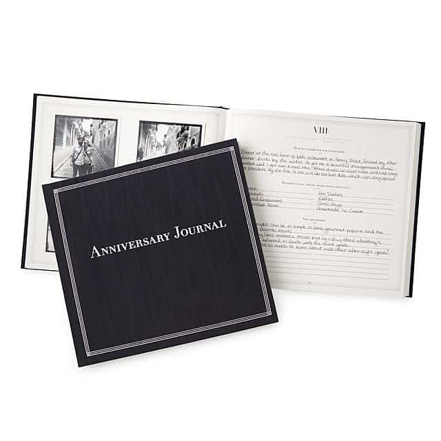 anniversary gifts for couples: anniversary journal