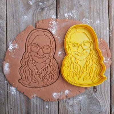 fun mother day gifts - Custom Face Cookie Cutter