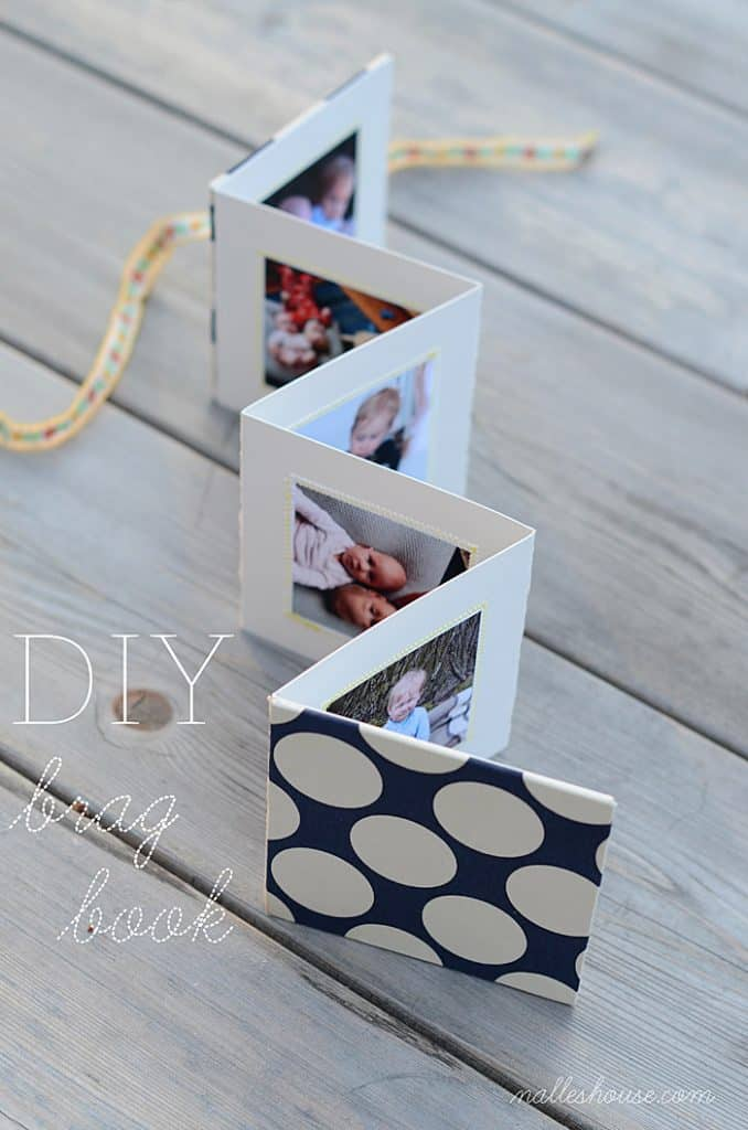 creative mother's day gifts: diy brag book