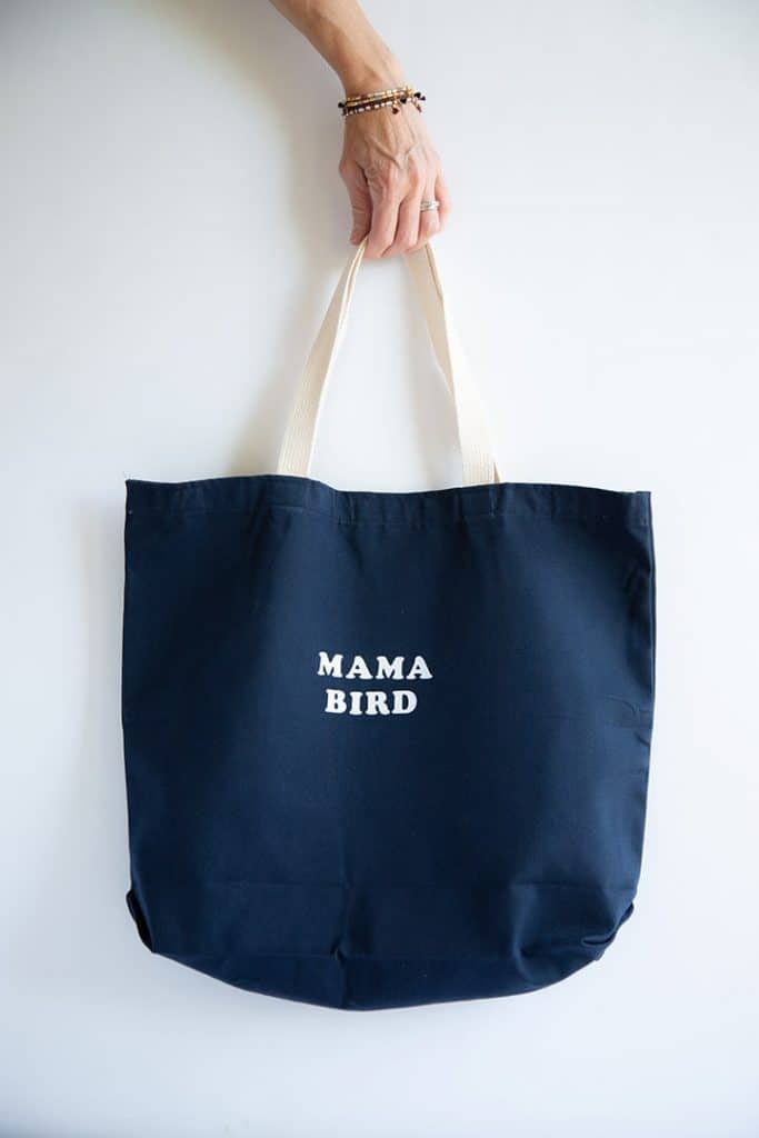 mothers day creative gift ideas: diy tote bag