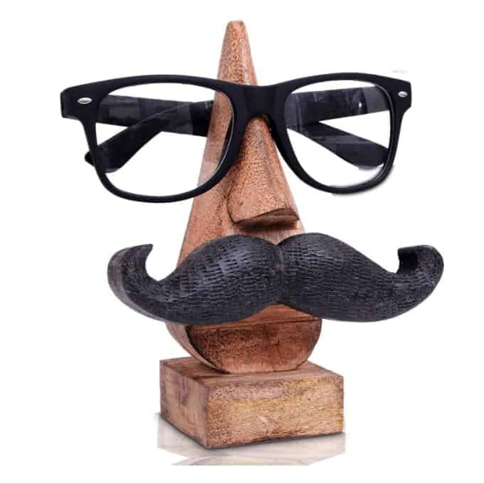 a funny eyeglasses holder stand for dad as a gift
