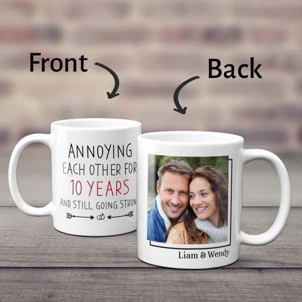Funny Anniversary Mug for Friends