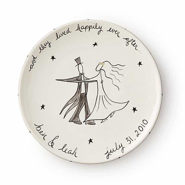 happily ever after custom platter
