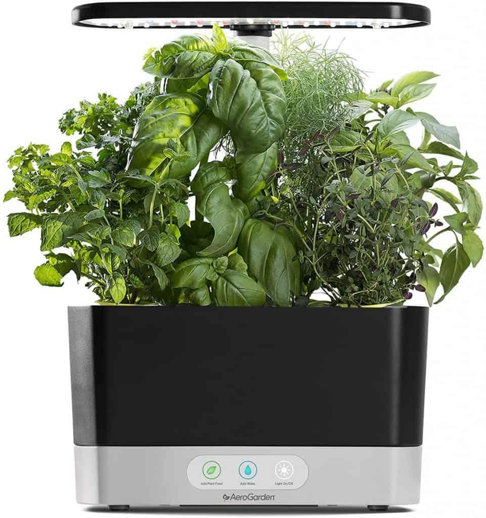 useful last minute gift for anniversary: indoor hydroponic garden