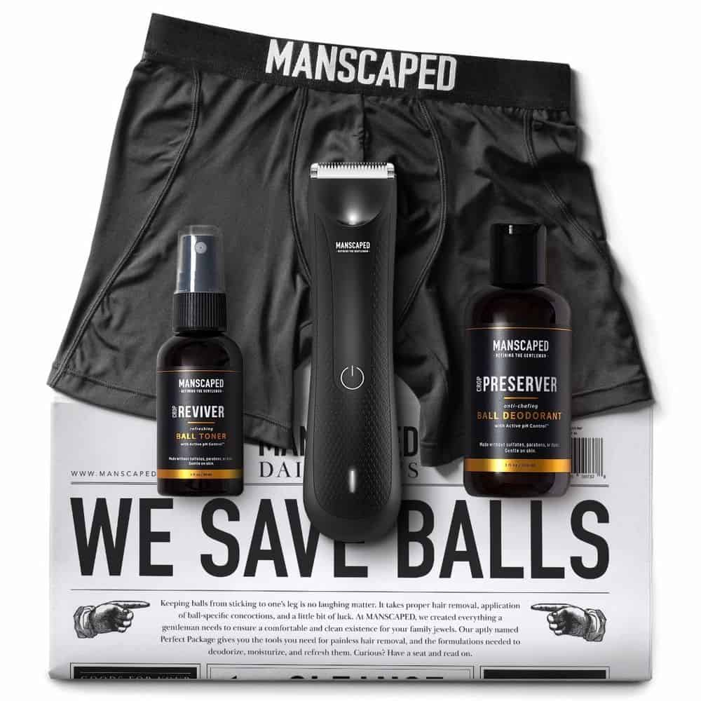 gifts for the impossible man: manscaped perfect package 3.0