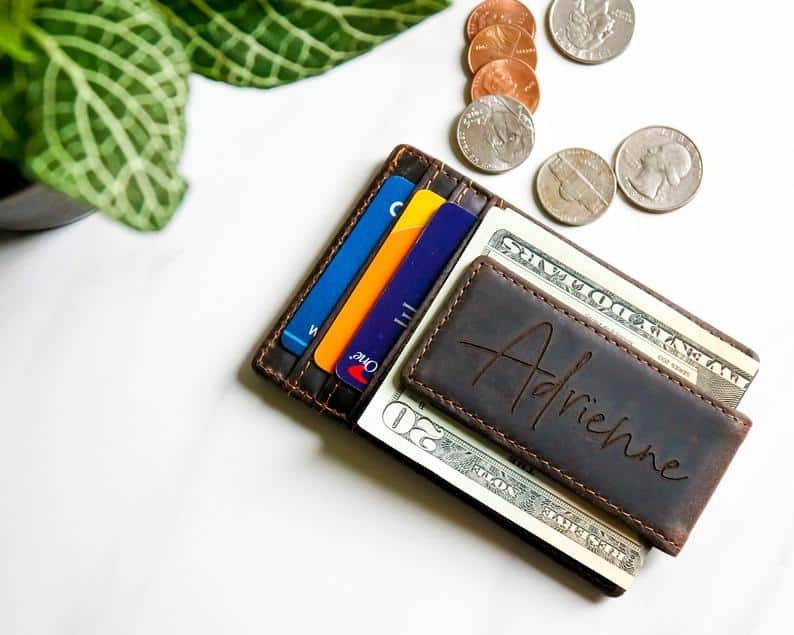 gifts for the hard to buy for: personalized money clip