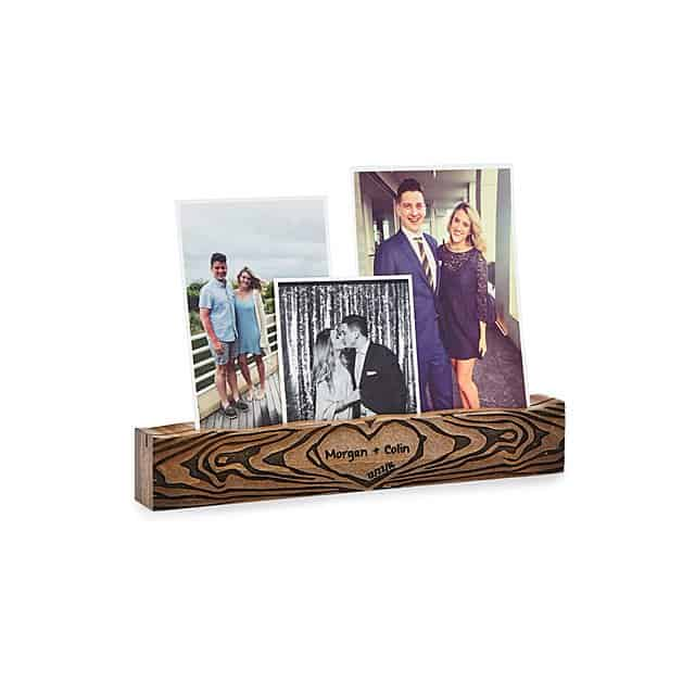 personalized tree of love photo ledge