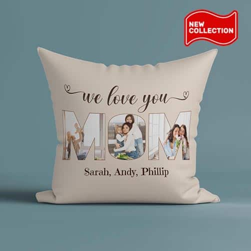 cheap mother day gift: pillow for mom