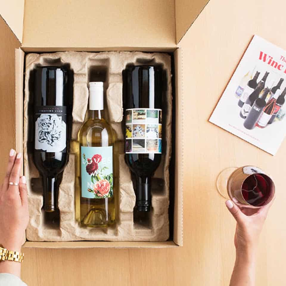 Wine Subscription Box - mom gifts for mothers day