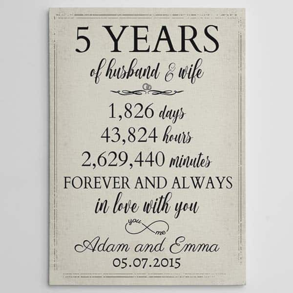 5 Years Of Husband and Wife