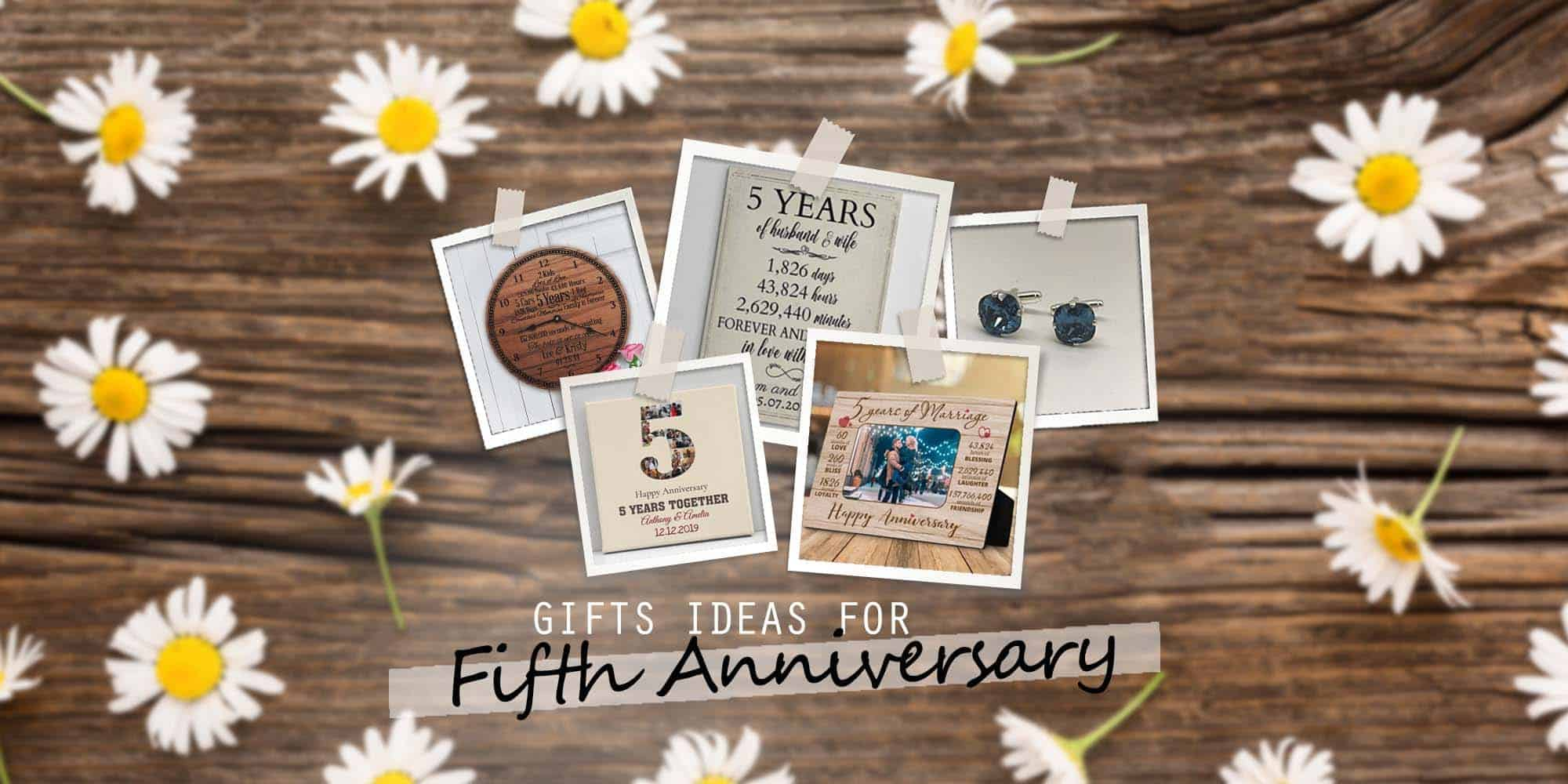 38 Best 5 Year Anniversary Gifts for Him, Her & Couple (2021)