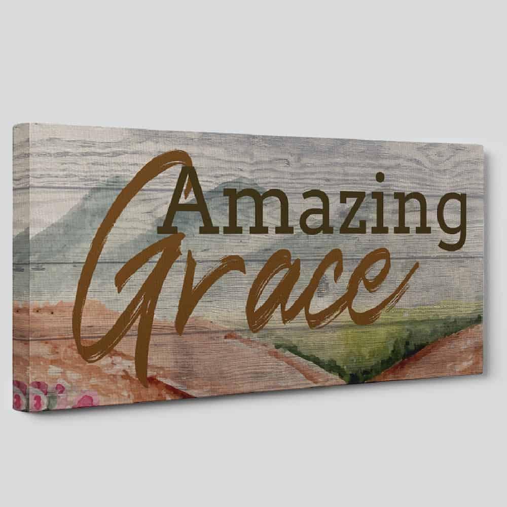 Amazing Grace Christian Wall Art