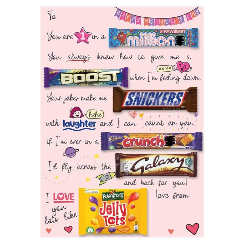 Birthday Candygram For Mom
