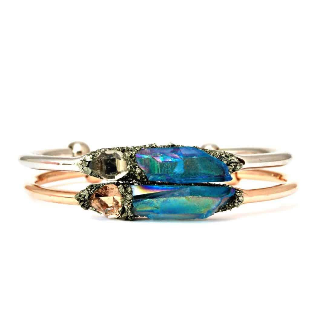 Birthstone Crystal Bracelet For Mom