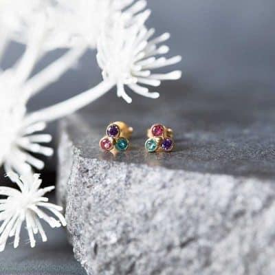 mom gifts - Birthstone Earrings