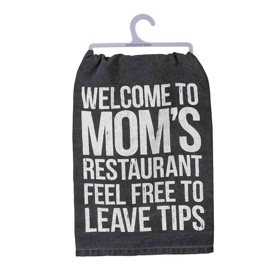 Dish Towel - mothers day gifts for mom from daughters