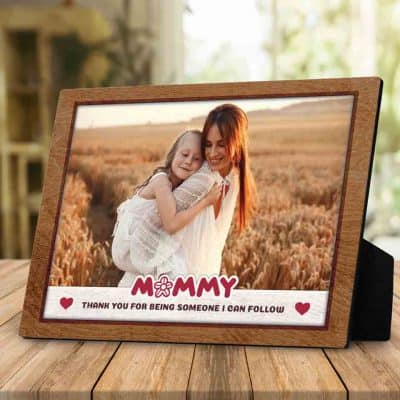 Thank You Mom Photo Plaque - thoughtful gifts for mom
