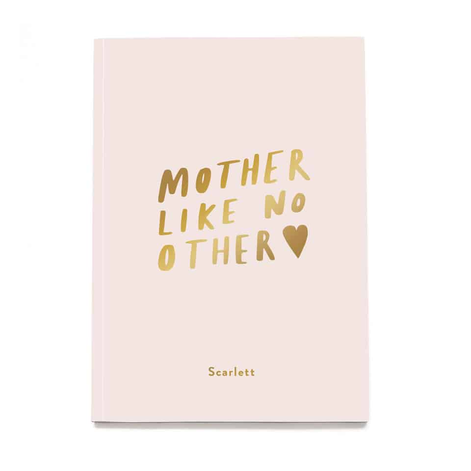 Mother Like No Other Notebook - mothers day presents from daughter