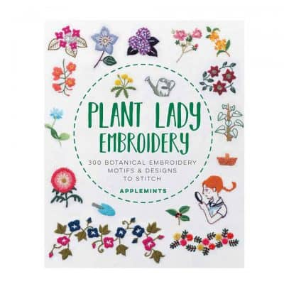 Plant Lady Embroidery Book- good gifts to get your mom