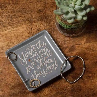 thank you gifts for mom - Trinket Tray