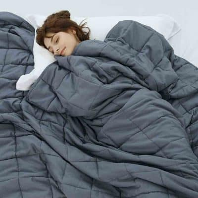 thank you gifts for mom - Weighted Blanket