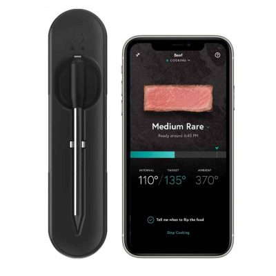 practical presents for mom - Wireless Smart Meat Thermometer