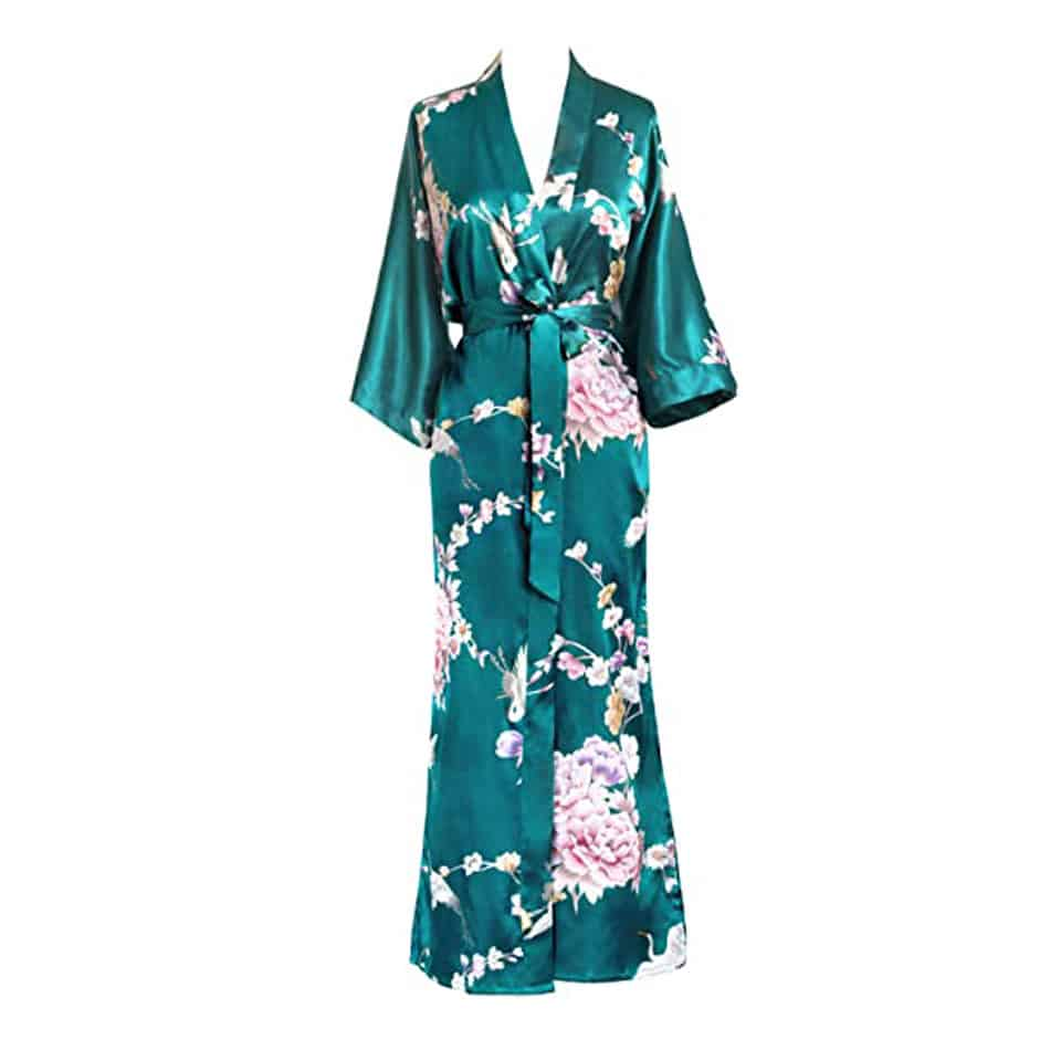 Satin Kimono Robe - mothers day gifts for mother from her daughter