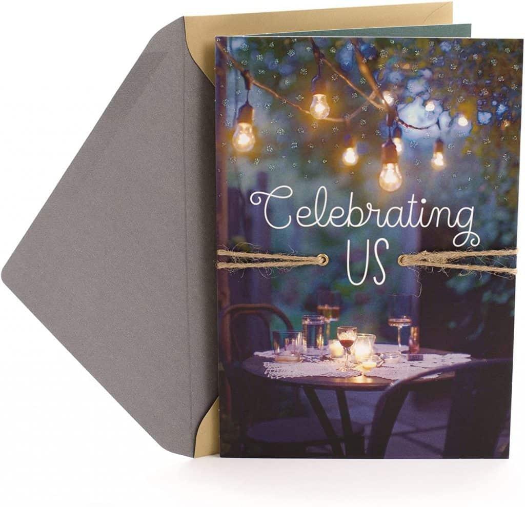 Celebrating Us Love Card