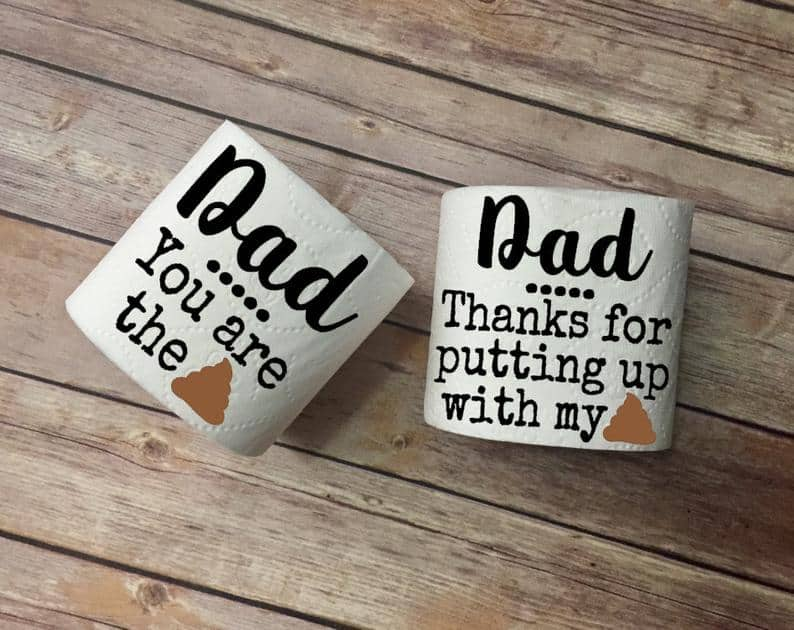 Father's Day Toilet Paper