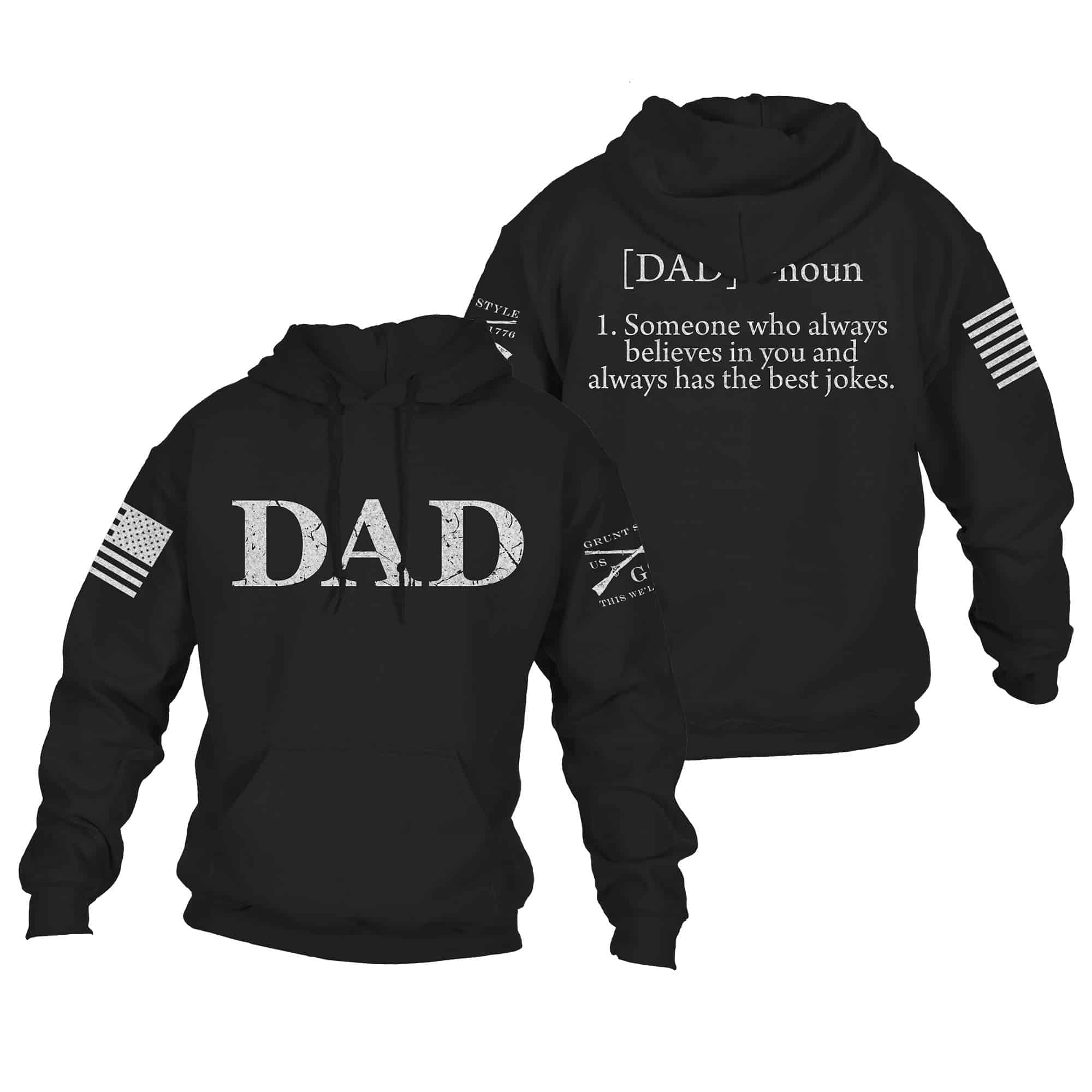 Grunt Style Dad Hoodie fathers day gifts from son