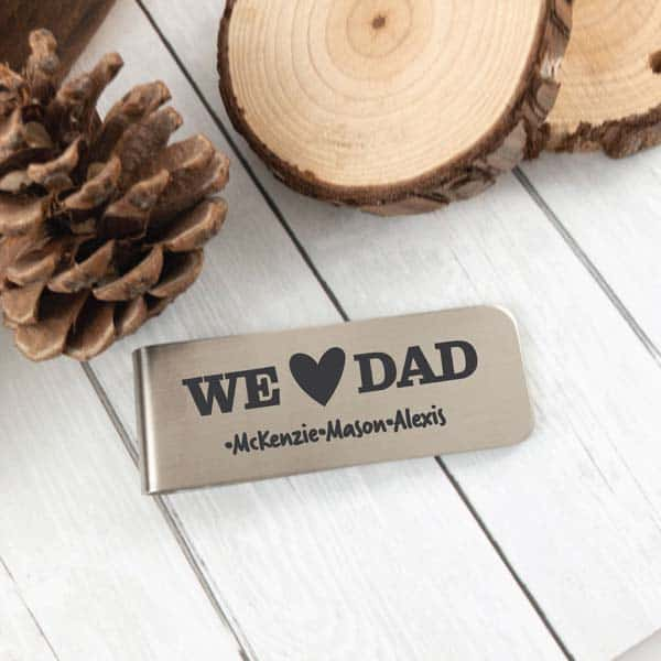 Money Clip - ideas for cheap fathers day gifts