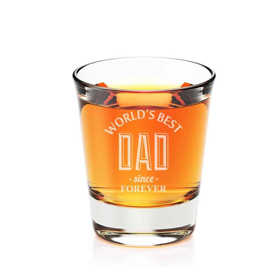 personalized fathers day gifts - One-Of-A-Kind Shot Glass